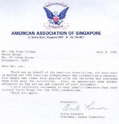 American Association of Singapore