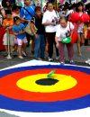 Bulls Eye Frisbee