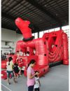 Dog Inflatable Bouncer 01 (Red)