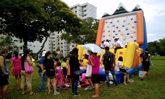 Inflatable Rock Climb 02