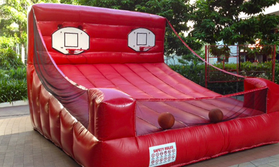 Inflatable Twin Basketball