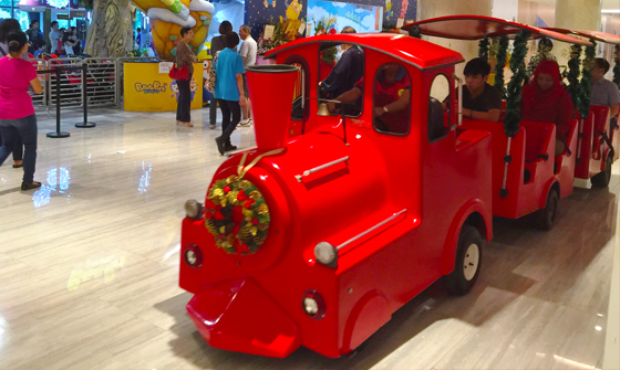Trackless Train 01 (Red)