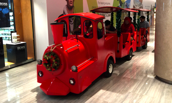 Trackless Train 03 (Red)