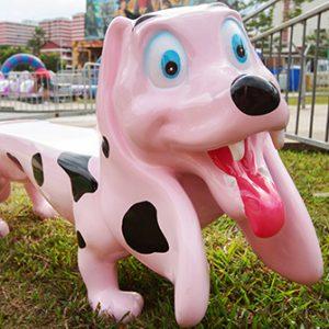 Dog Seat (Pink)