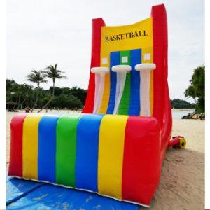 Inflatable Triple Basketball