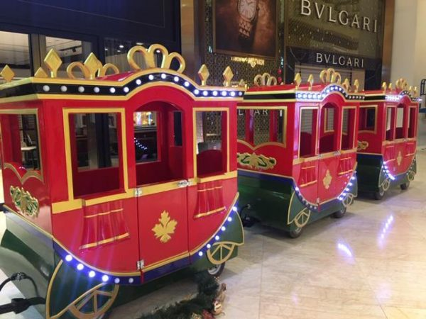Royal Trackless Train 4